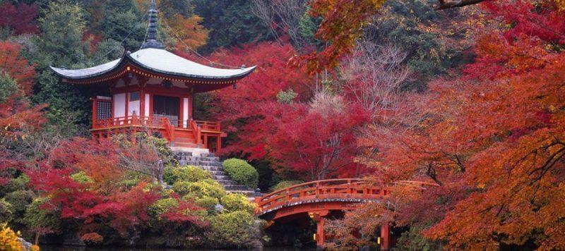 mejor época para viajar a japon Otoño