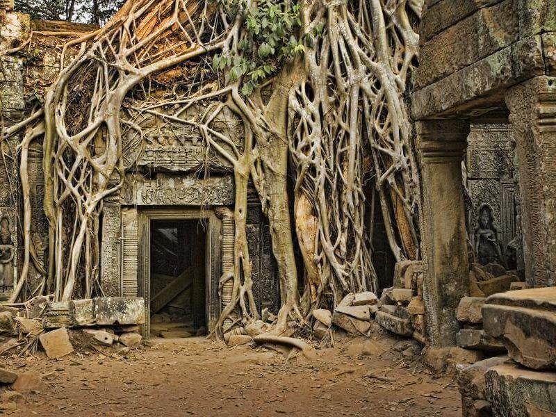 Vietnam y Camboya Templos Angkor Camboya