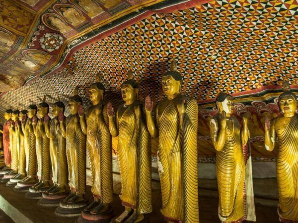 Sri lanka Dambulla Templo Cuevas