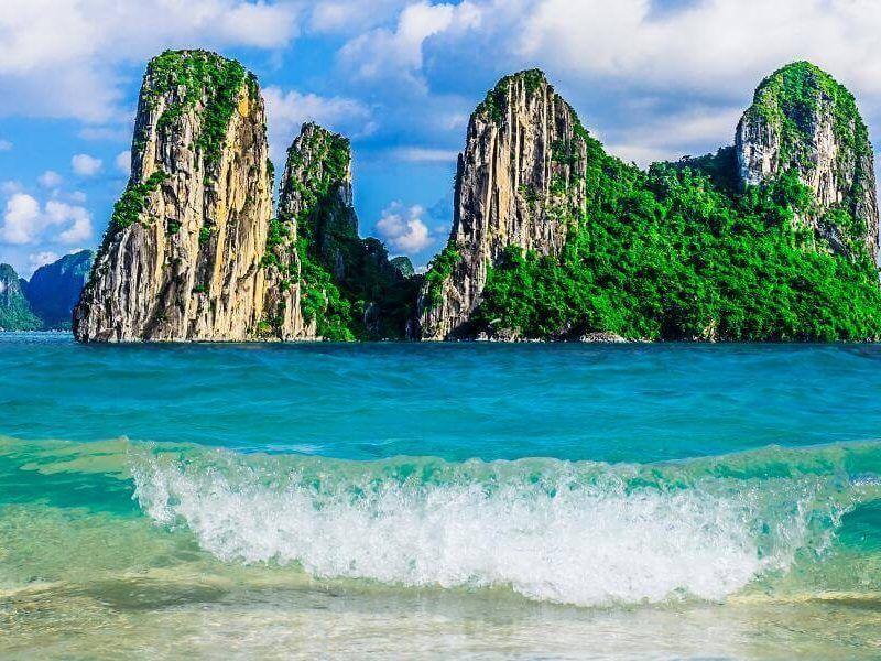 viajes vietnam y camboya - bahia de halong Vietnam