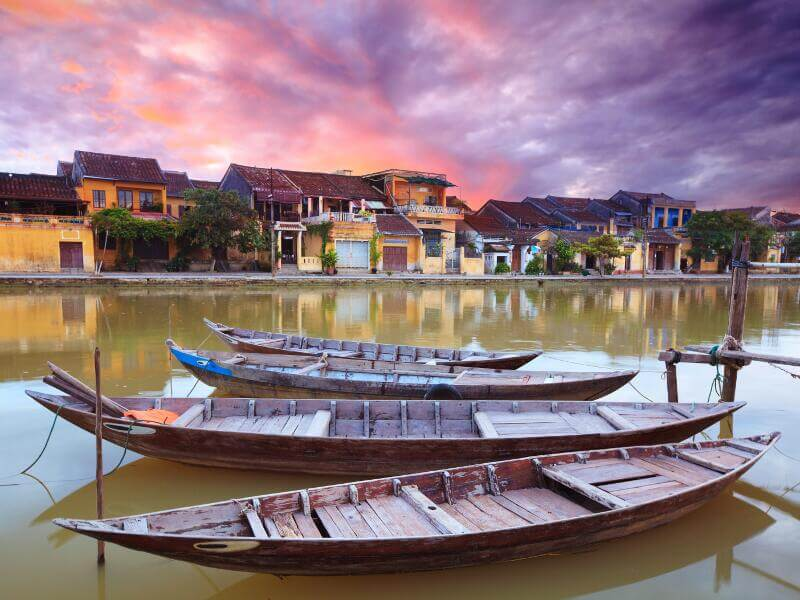 Combinado Vietnam y Camboya- hoi an Vietnam