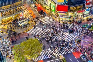 Viajes a Japon Tokio Cruce de Shibuya