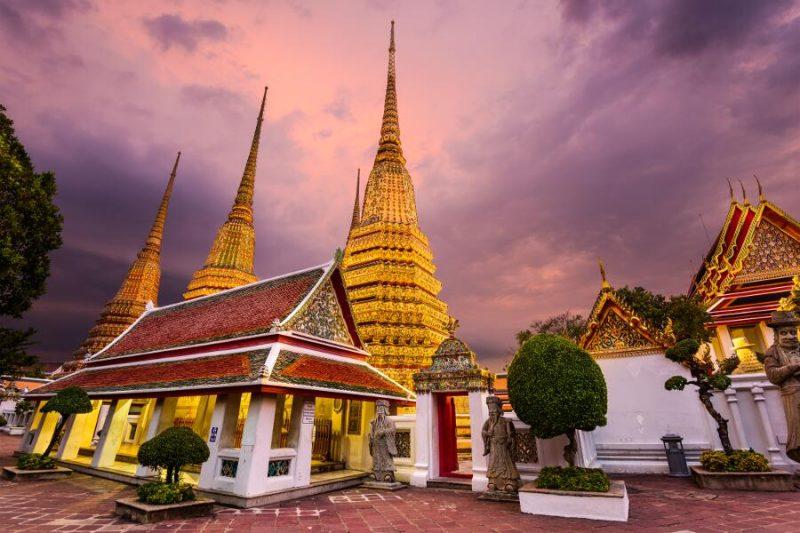 bangkok templo wat pho