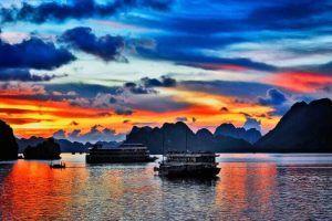Viajar a Vietnam Bahia de Halong