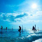 viajes a sri lanka - weligama pescadores