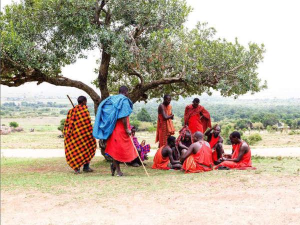 Safari en kenia tribu