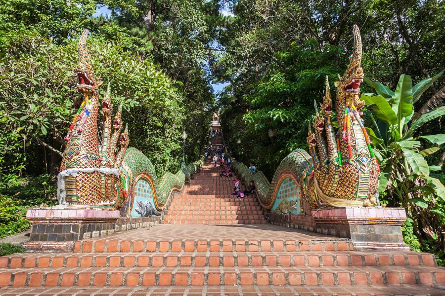 Tailandia Chiang Mai - Doi suthep