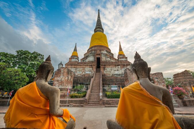 viajar a tailandia - Ayutthaya centro arqueologico