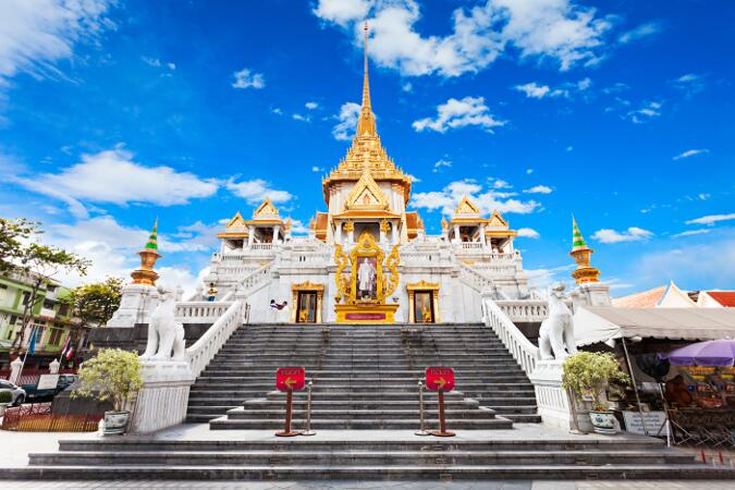 viajes tailandia - bangkok templo Wat Traimit