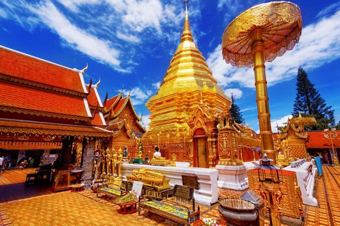 viajes a tailandia - chiang mai doi suthep